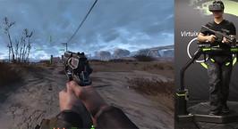 По Пустоши из Fallout предложили пройтись в виртуальной реальности