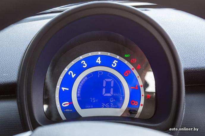Обзор электромобиля Lifan 330EV