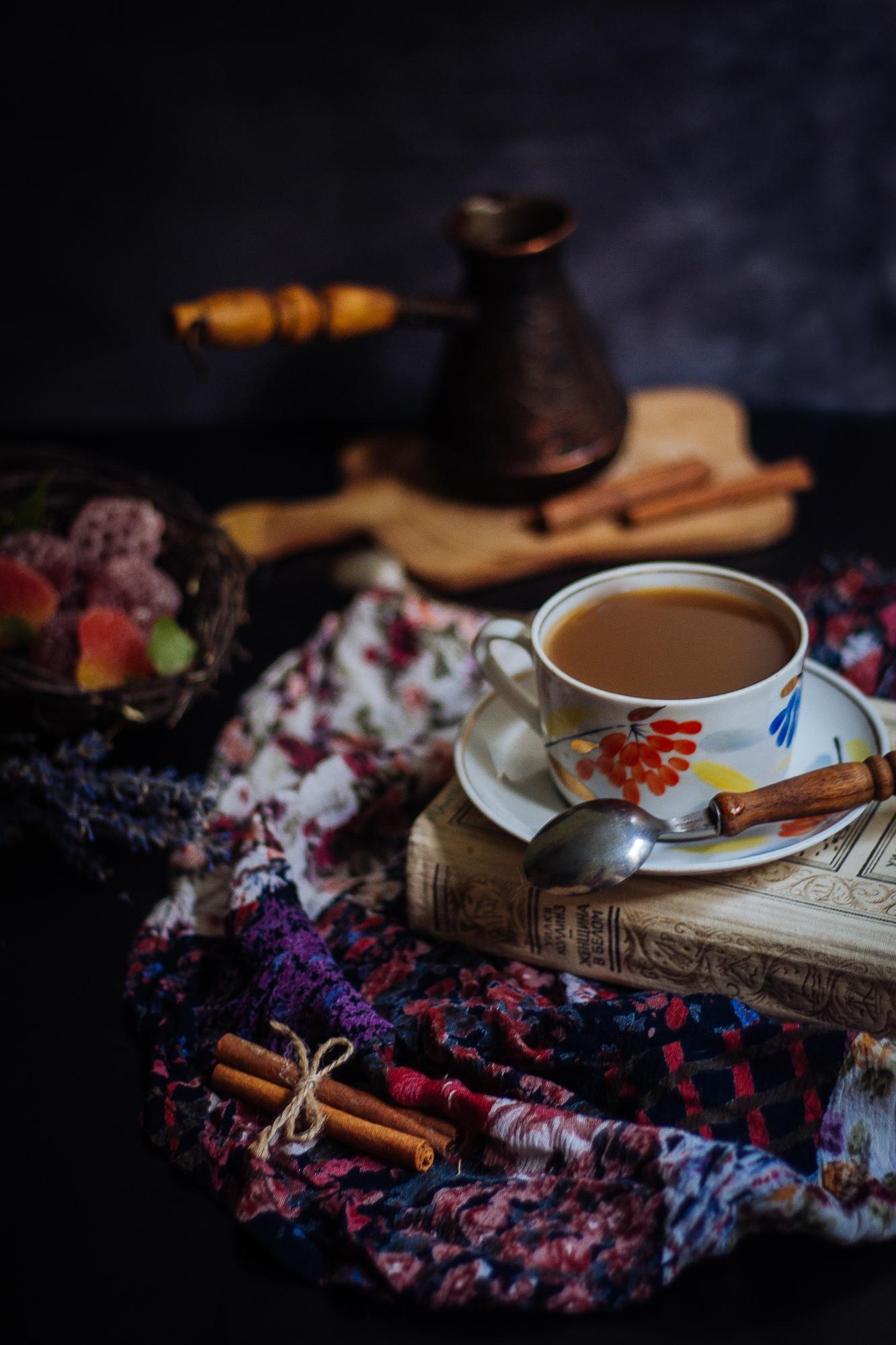 собой красивые картинки вечер и кофе декора, его