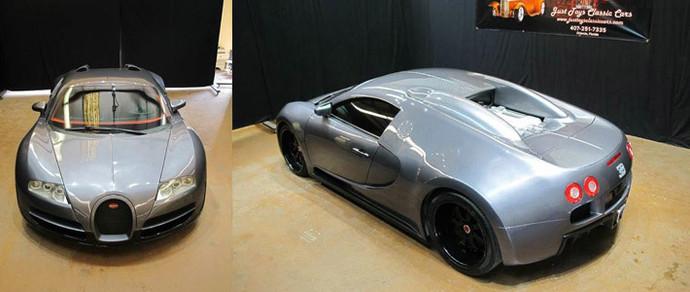В США продается ненастоящий Bugatti Veyron за 82 тысячи долларов. Можно в кредит на семь лет!