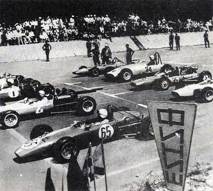 Июнь 1970 года. Национальная серий Формулы-1 СССР прошла в Минске