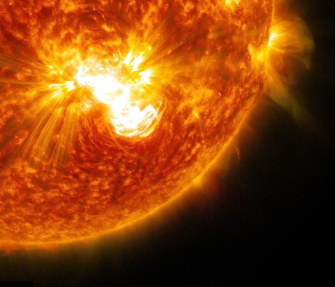 Самая большое солнце на картинке
