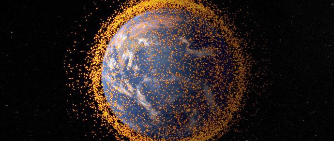 Ученые: космический мусор может привести к войне