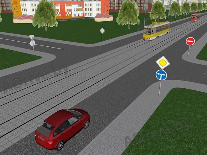 Дороги с трамвайными путями менее Хилвар
