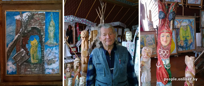 Фоторепортаж из Теребличей: как житель полесской деревни собрал музей