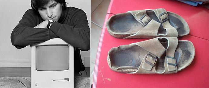 Поношенные сандалии Стива Джобса продали за $2700