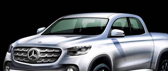 Пикап Mercedes появится в продаже в конце следующего года