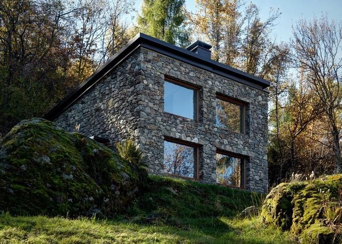 Дом в деревенском стиле фото фасад