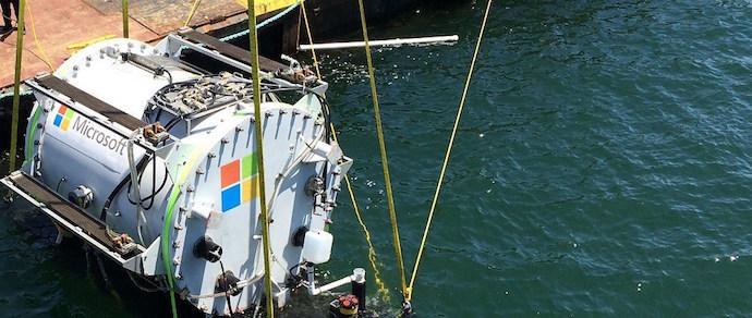 Microsoft успешно испытала подводную серверную