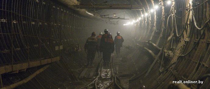 В Минске начали строить соединительный тоннель между второй и третьей линиями метро