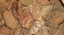 Таможенники нашли в шелухе от семечек 8 центнеров украинского янтаря