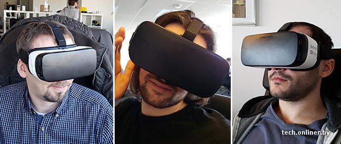 Onliner.by протестировал шлем виртуальной реальности Gear VR: классно, но только первые три минуты