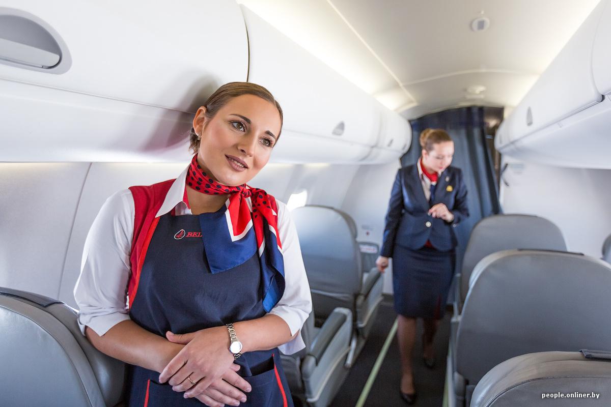 стюардессу отели в самолете развратница вышла