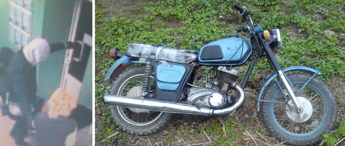 Милиционеры ищут грабителей банка в Березинском, унесших с собой 60 миллионов, по перекрашенному мотоциклу
