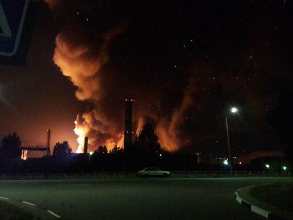 ВСолигорске на«Беларуськалие» произошел пожар— МЧС