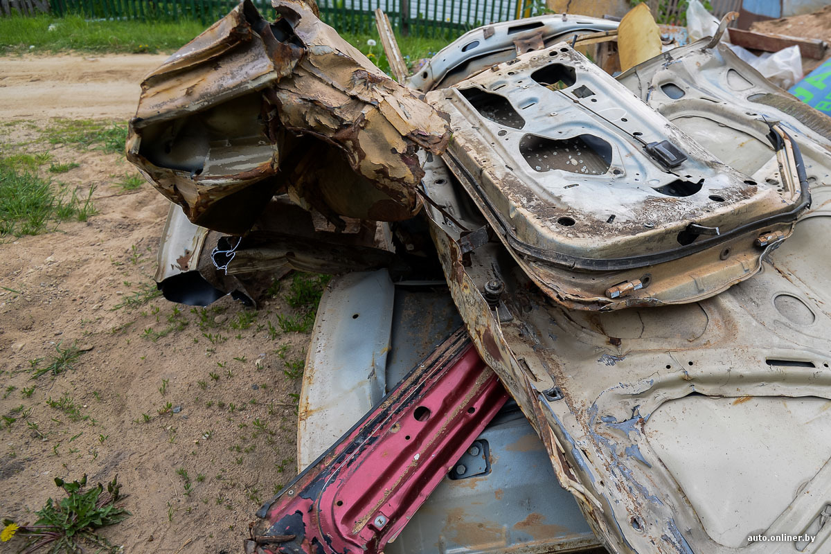 Сдать авто на металлолом в витебске пункт приема металлолома москва в Зендиково