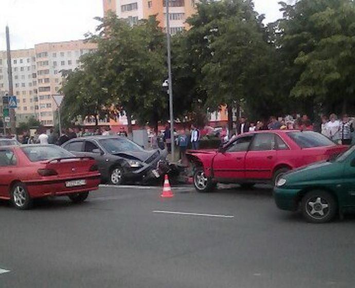 фото жлобин авария