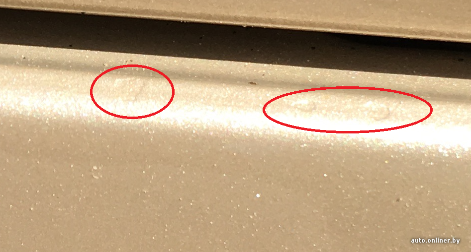 владелец Lexus жалуется на то как покрасили его авто