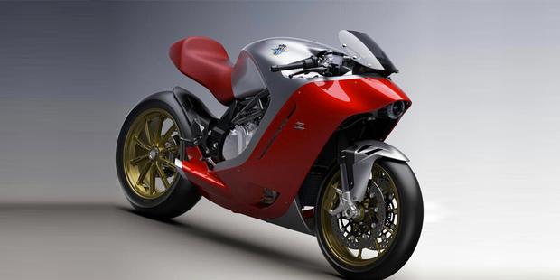 MV Agusta построила байк с дизайном Zagato
