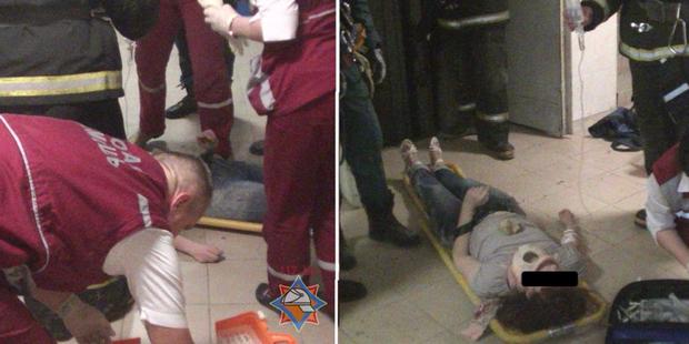 Вахтер минского общежития разговаривала по телефону, руками открыла двери лифта и провалилась в пустую шахту