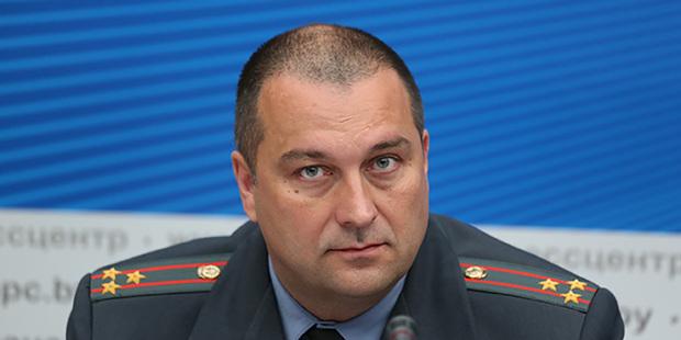 Новым начальником Минской ГАИ назначили полковника из УГАИ МВД Вадима Гаркуна
