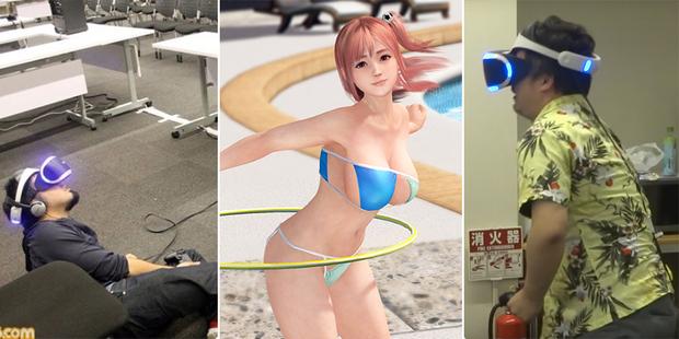 PlayStation VR позволит «трогать» девиц в игре Dead or Alive Xtreme 3 (18+)
