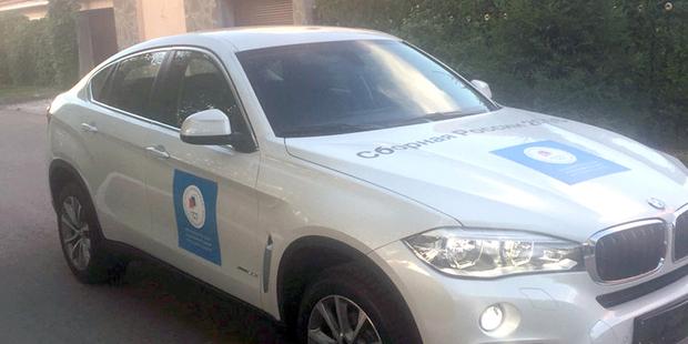 Цена — $72 тысячи, торг строго у капота: в России продали «олимпийский» BMW X6 — подарок за медаль в Рио