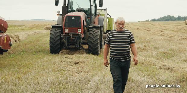 «Куда уходить, если мы всю жизнь в колхозе?» Видеорепортаж о простых комбайнерах