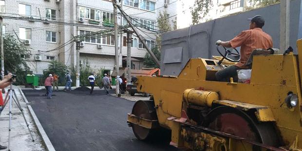 В Астрахани штрафуют за ремонт разбитых дорог?
