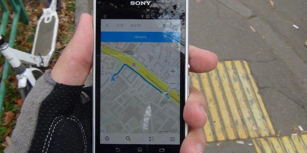 Офлайн-карты Maps.Me обзавелись навигацией для велосипедистов