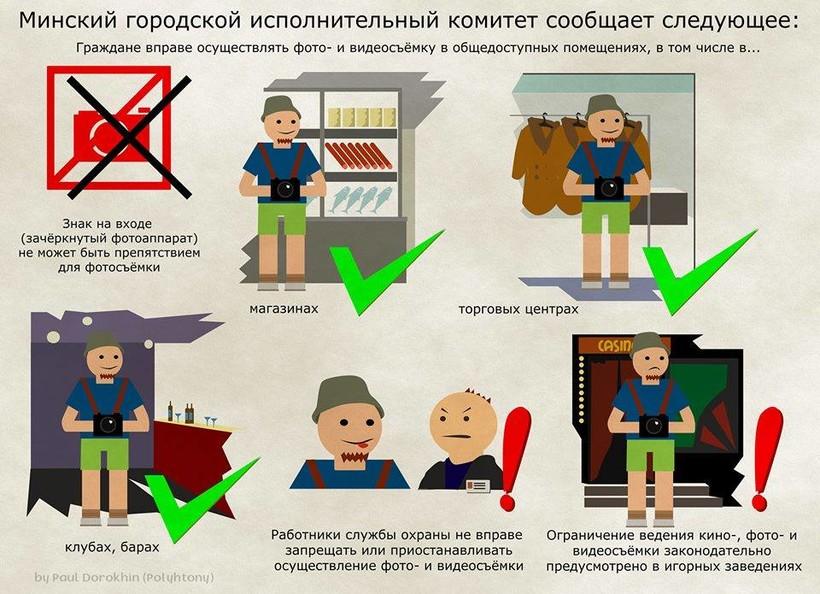 Закон о правилах фотографирования