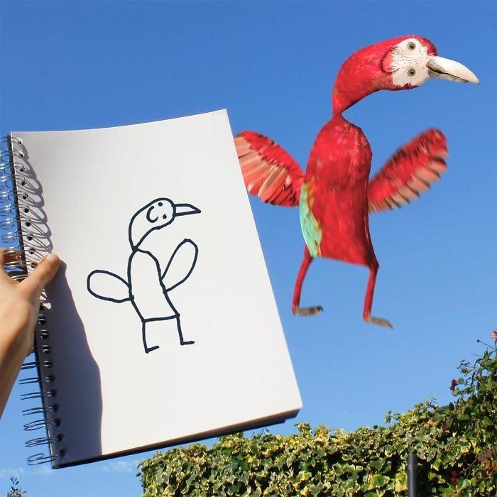 Картинки как рисуют дети смешные