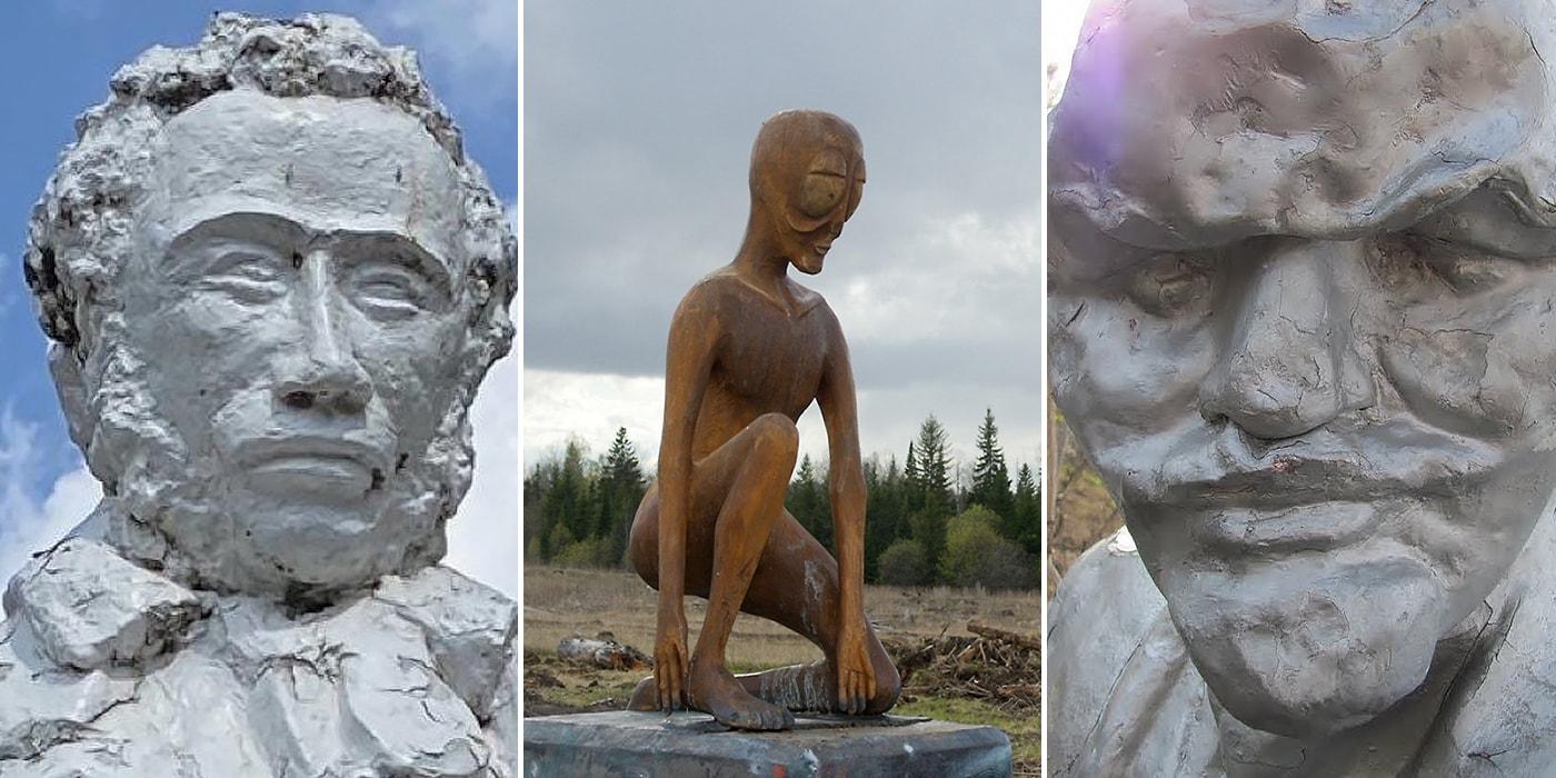 Собрали самые «провальные» скульптуры из российской глубинки