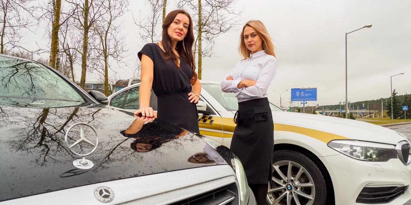 работа в такси девушкам