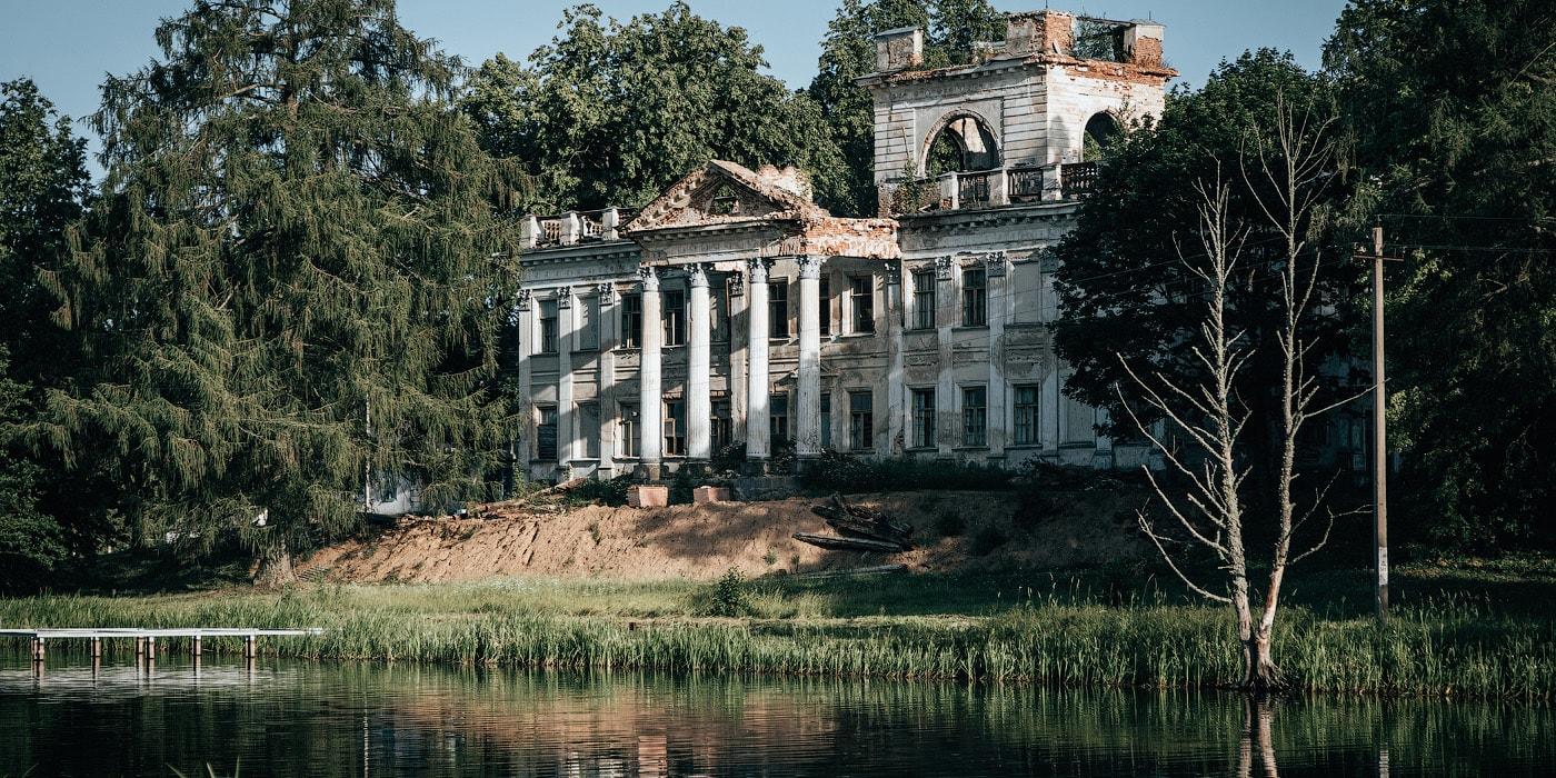 Варшавский дворец, оказавшийся в Гродненской области