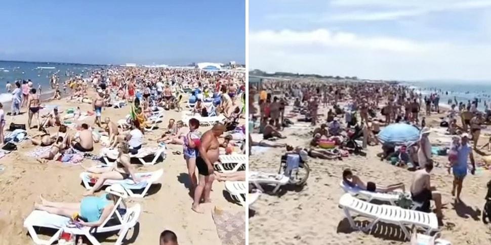 Ад на пляжах». От количества туристов Анапа трещит по швам