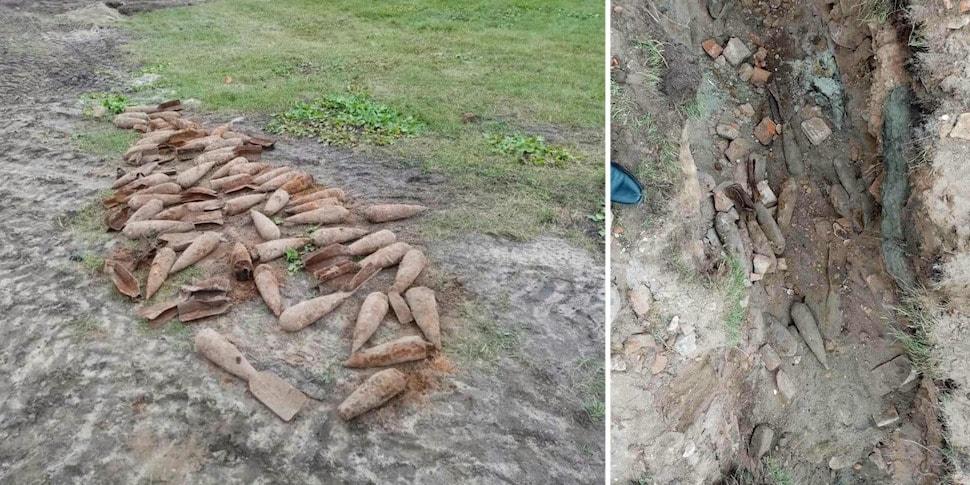 Более 170 авиабомб обнаружили в Брестской крепости при реконструкции Восточного форта