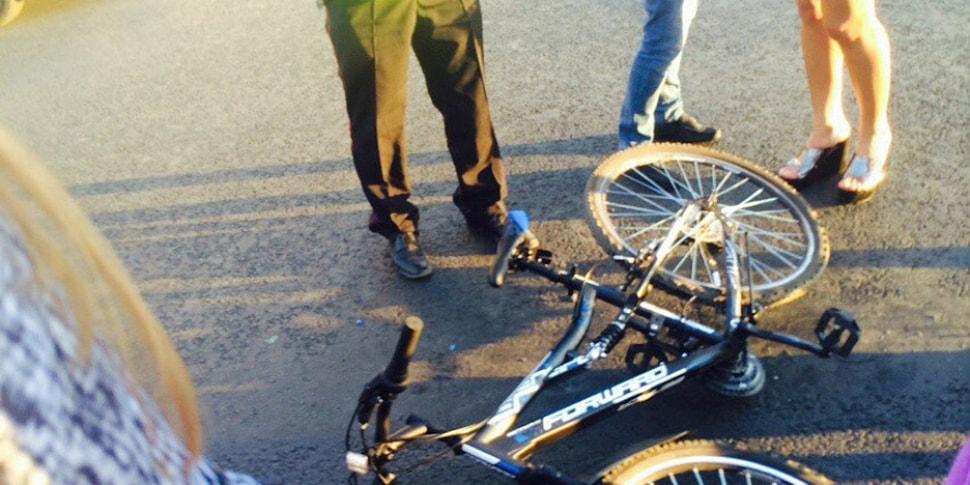 Велосипедист выплатит 1000 рублей штрафа за наезд на пешехода