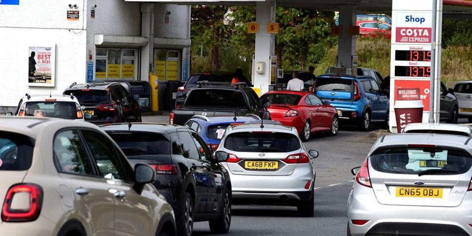 В Великобритании дефицит топлива на АЗС