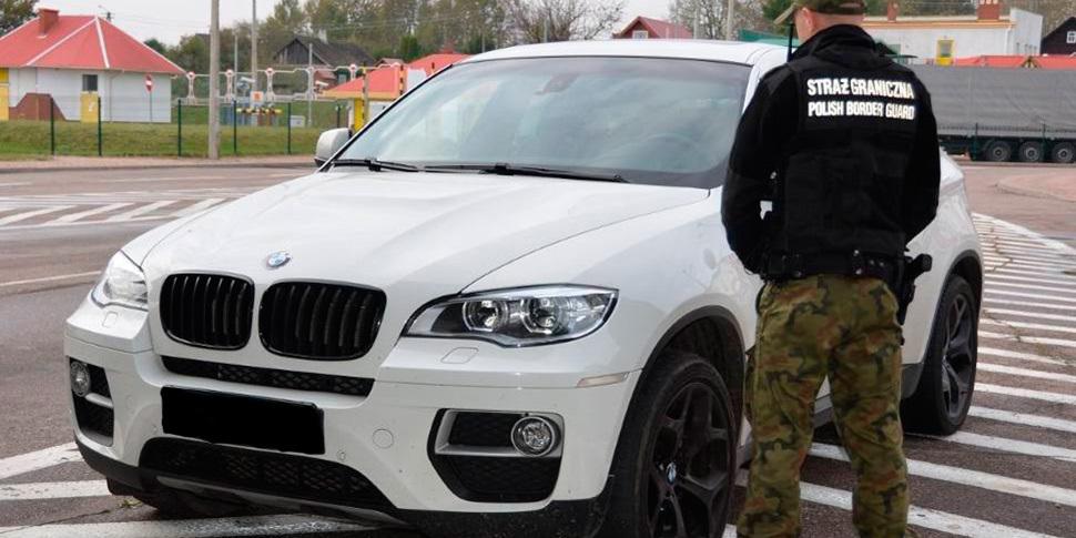 Белоруска съездила в Польшу и лишилась BMW за $40 000