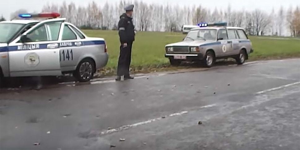 Мужчину, вызвавшего милицию на установщика камеры со словами «грабеж на дороге», хотят привлечь за мелкое хулиганство