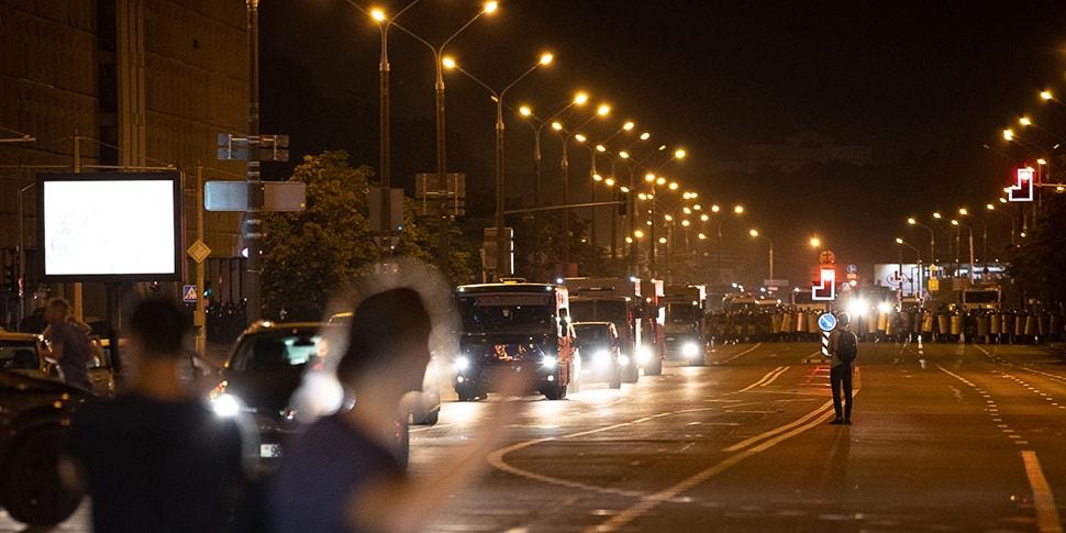 Лукашенко о ночных столкновениях: «Это хорошо, что омоновцы их удержали. Если бы они дошли до Дворца независимости, там уже другой расклад»