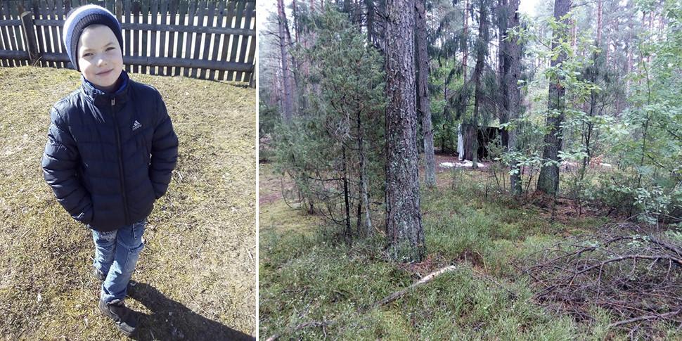 Поиски Максима в Беловежской пуще: волонтеры уехали, но подключился ОМОН