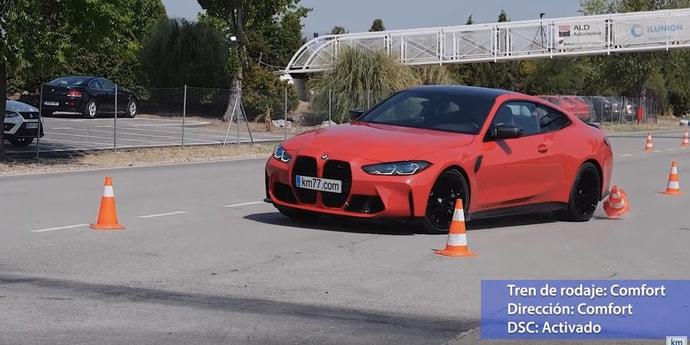 BMW М4 провалила «лосиный тест» — результат хуже, чем у Ford Puma