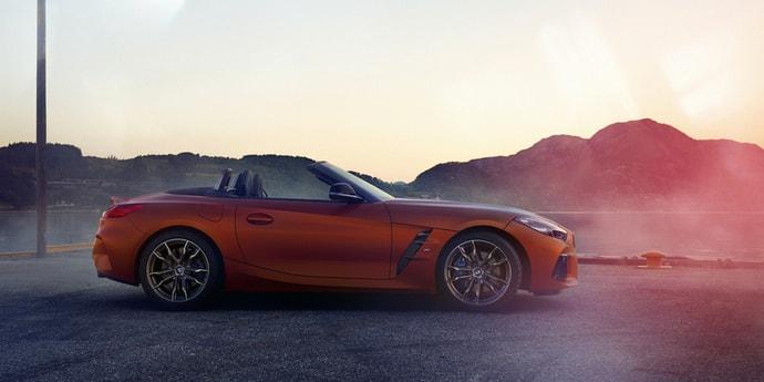 Немцы показали дизайн серийного BMW Z4