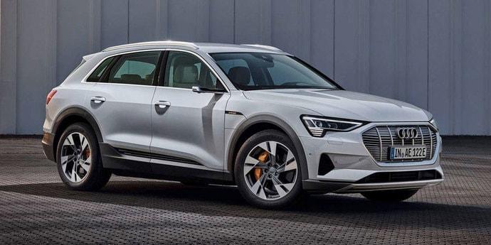 Немцы рассказали о самой доступной версии Audi e-tron