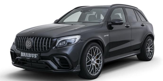 Компания Brabus превратила Mercedes-AMG GLC63 S в 600-сильный SUV