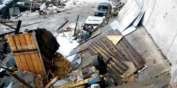 СК: взрыв в гаражном кооперативе под Минском произошел из-за небрежности с обогревателем