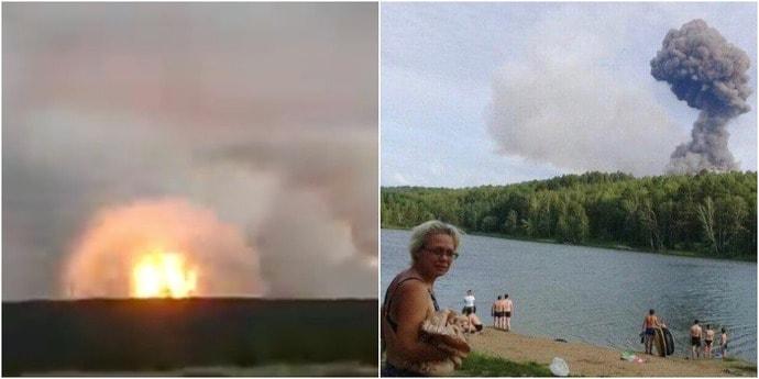 В Красноярском крае горят склады с боеприпасами. Власти эвакуируют всех в радиусе 20 километров от взрывов(видео, дополнено)
