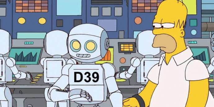 Большинство предпочтет, чтобы их работу «украли» роботы, а не другие люди